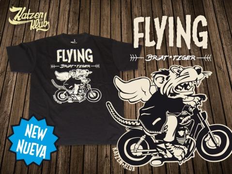 Flying Brat Tiger - Katzen Klub